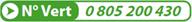 Numero Vert 0805200430