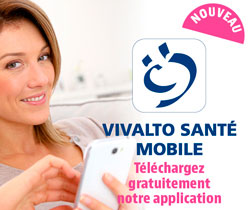Application Vivalto Santé Mobile